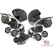 Camarelo Sirion Eco bērnu universālie ratiņi 3in1 col.SiE-5 (Eco dark Grey)
